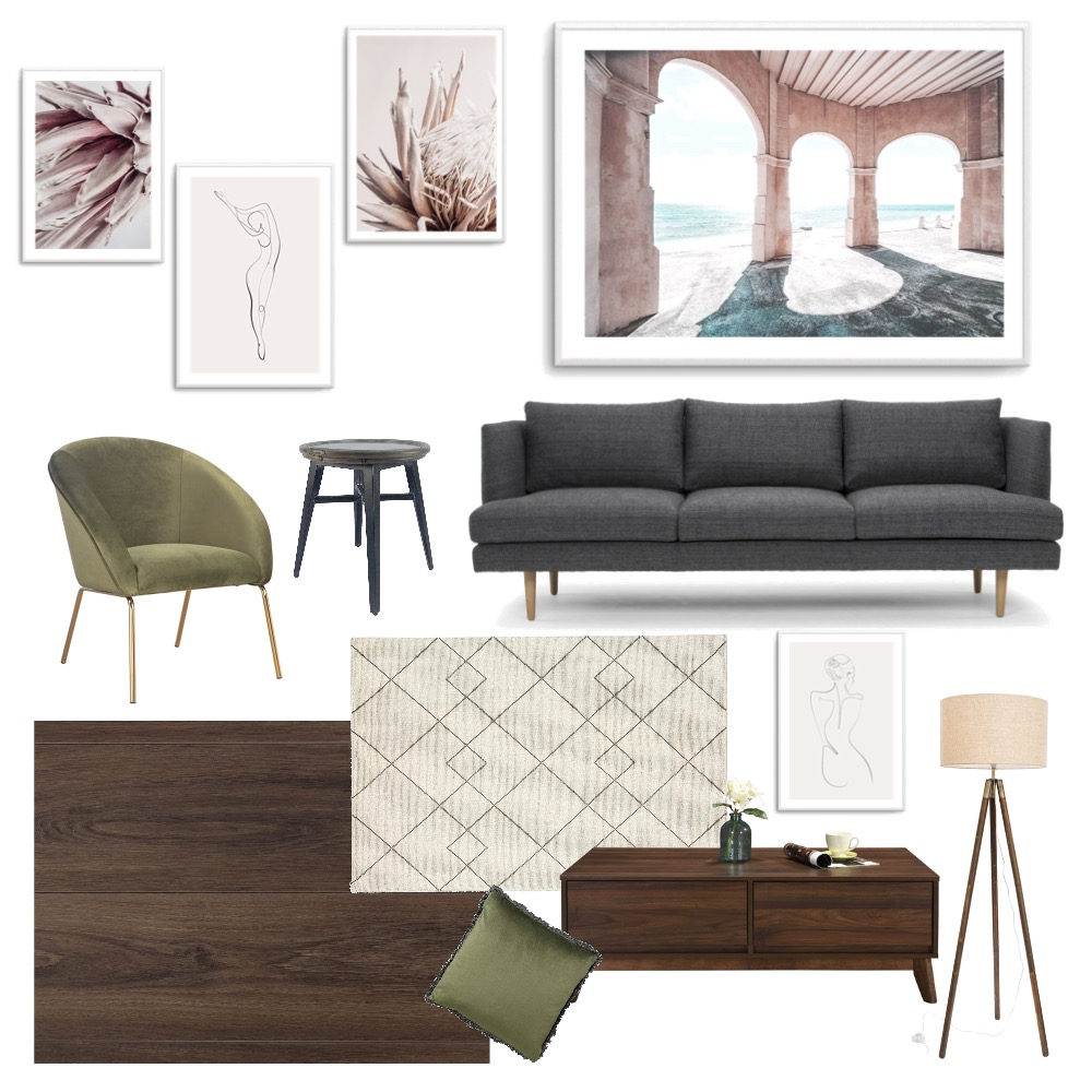 Easy Being Green Interior Design Mood Board by Tessamay23 on Style Sourcebook