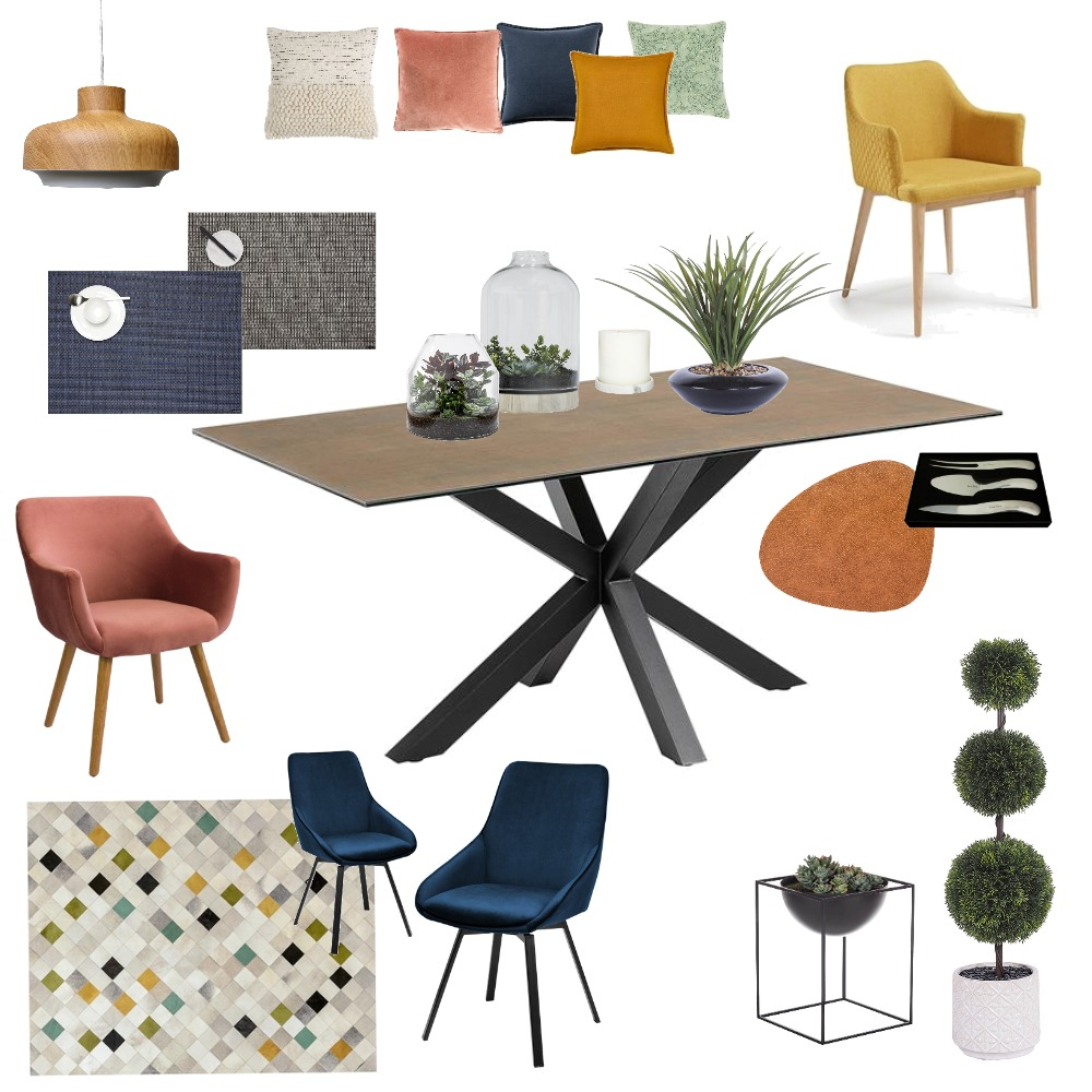 Assign9ModernDining Interior Design Mood Board by dothyon on Style Sourcebook