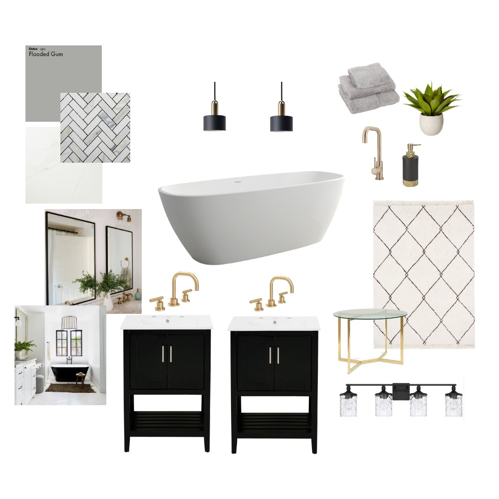 Module 3 - Bathroom Mood Board Interior Design Mood Board by DeBoerDesign on Style Sourcebook