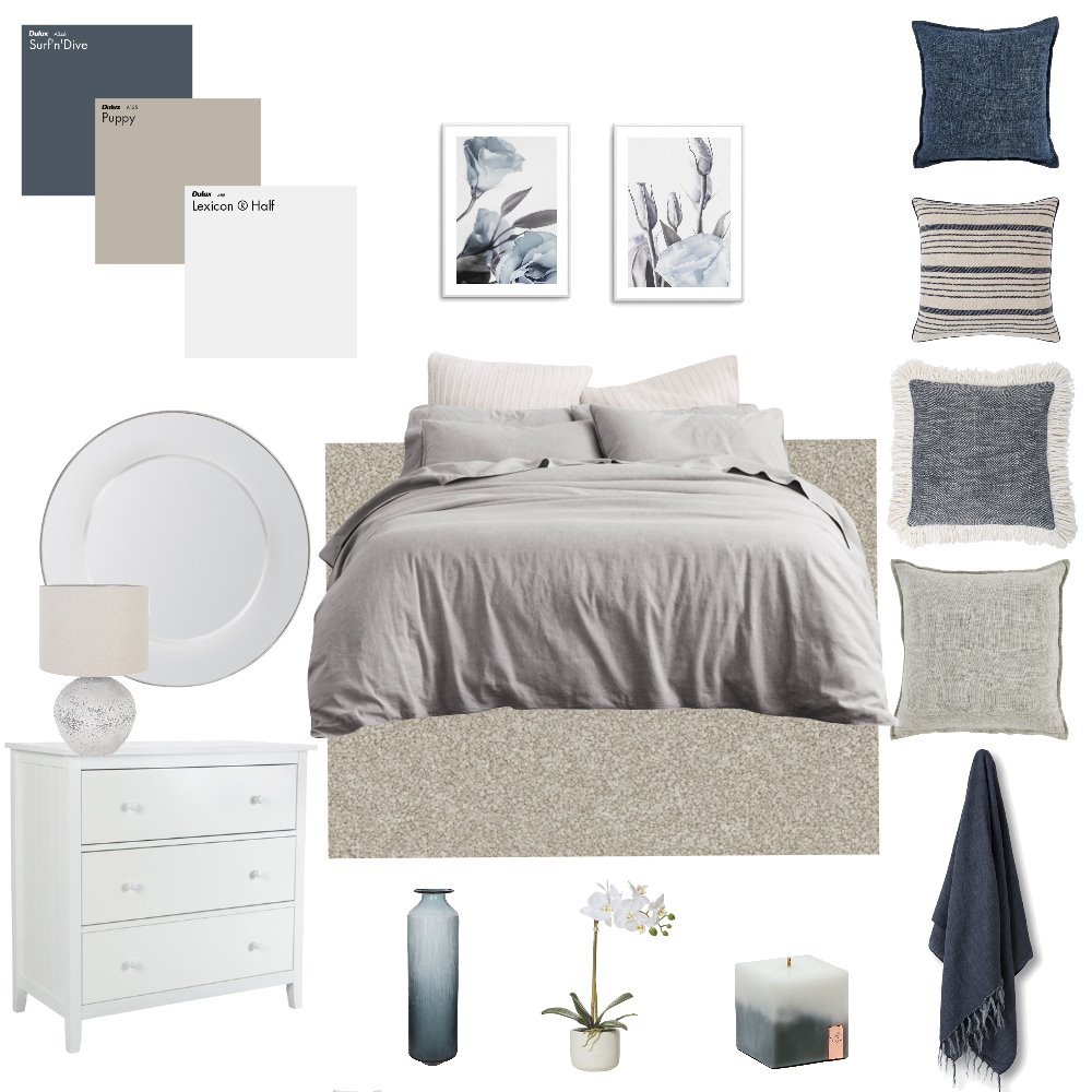 Bedroom Interior Design Mood Board by Lauren Hooligan on Style Sourcebook