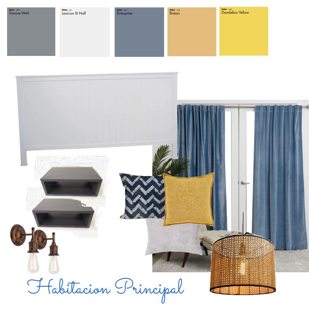 Habitacion Primcipal Interior Design Mood Board by veronica1988 on Style Sourcebook