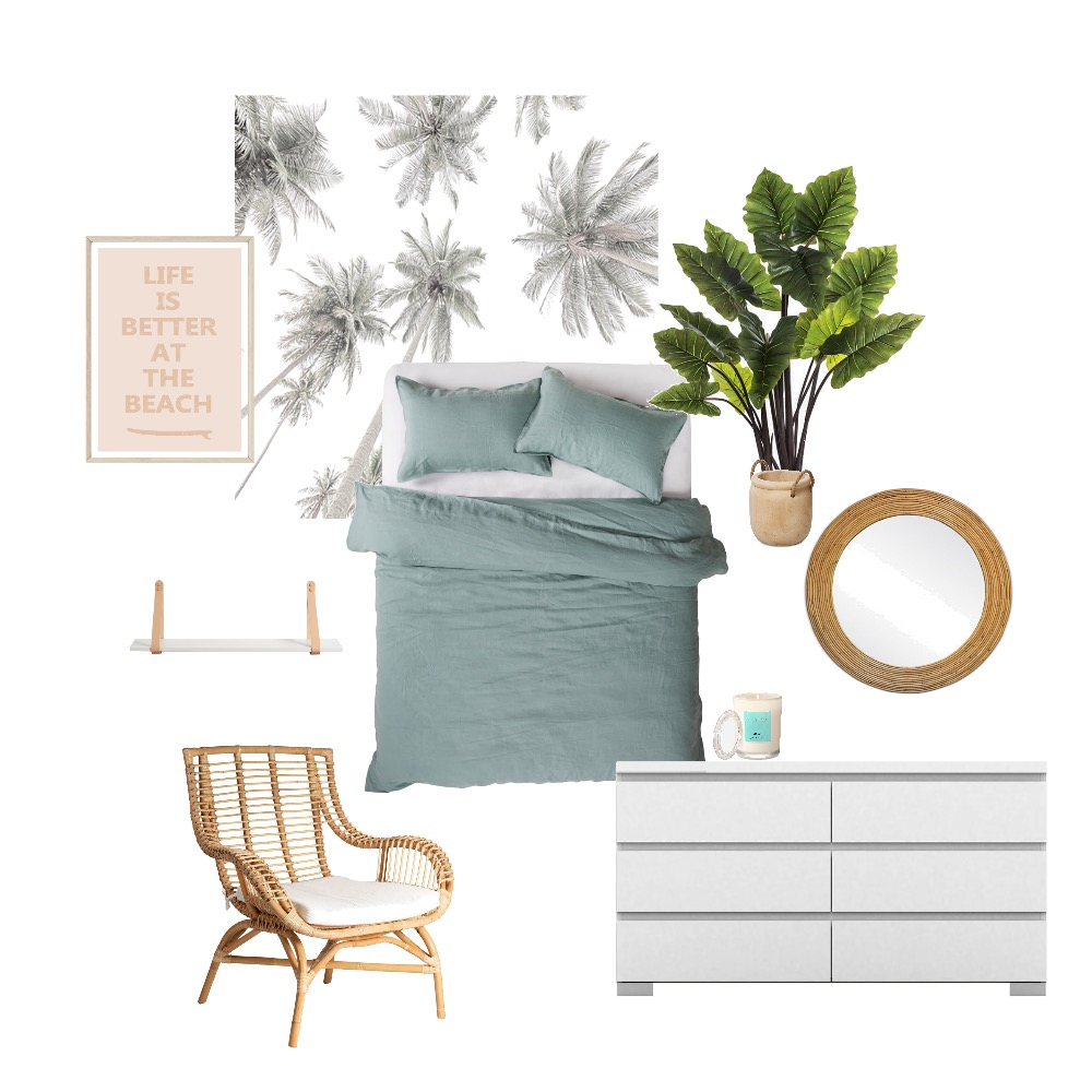 second bedroom Interior Design Mood Board by crystal zee on Style Sourcebook