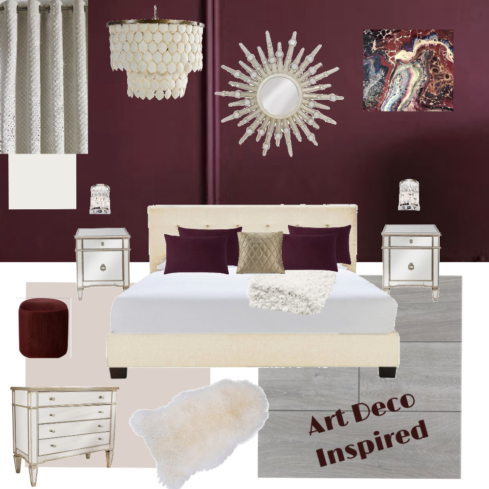 Bedroom Interior Design Mood Board by Starlings Nest on Style Sourcebook