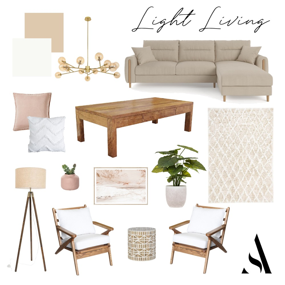 Light Living Renovation 002 Interior Design Mood Board by Amelia Strachan Interiors on Style Sourcebook