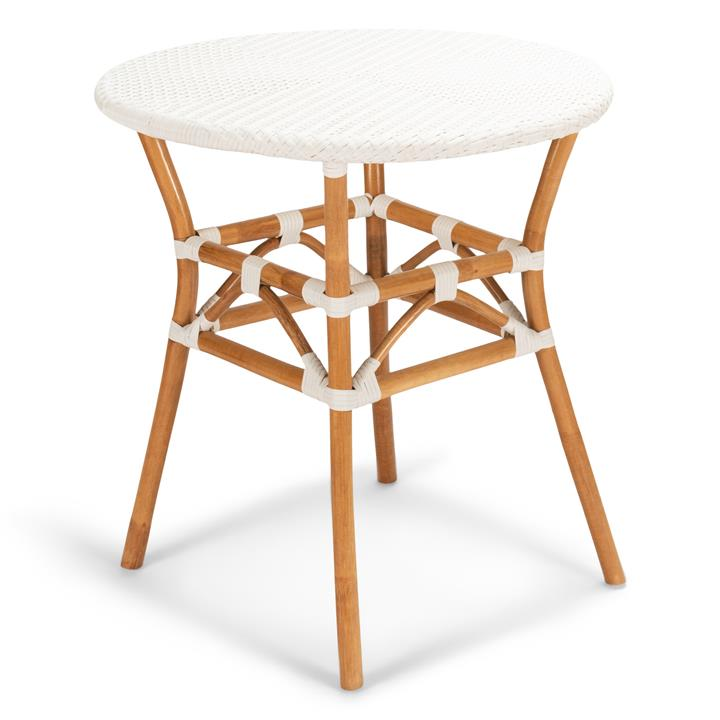 Carmila Rattan Round Bistro Table, 70cm