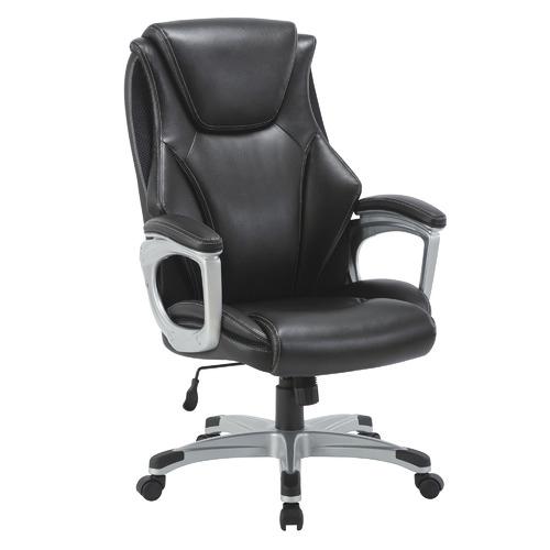 Lorell Executive Ergonomic Office Chair Colour: Black