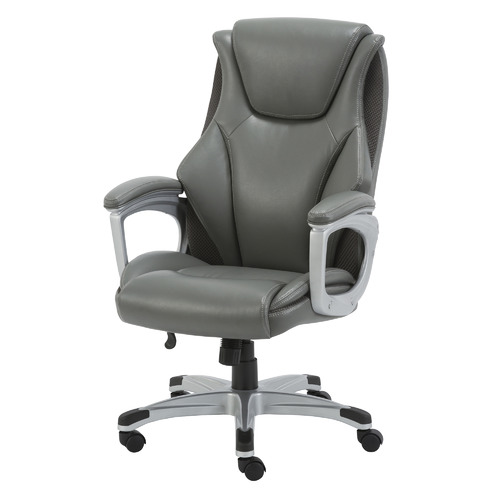Lorell Executive Ergonomic Office Chair Colour: Grey