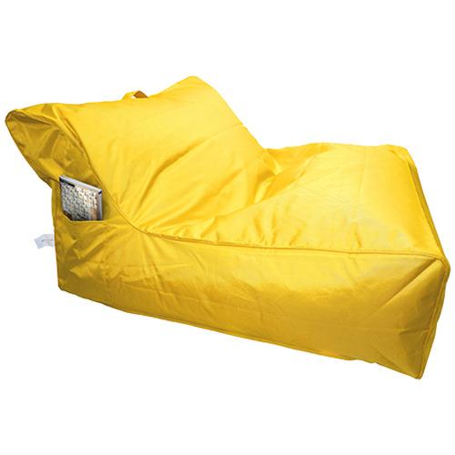 Atticus Double Beanbag Cover Colour: Yellow