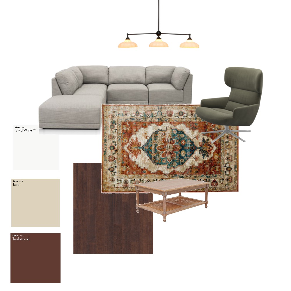 Dad's Gameroom Interior Design Mood Board by MaddyDesigns on Style Sourcebook