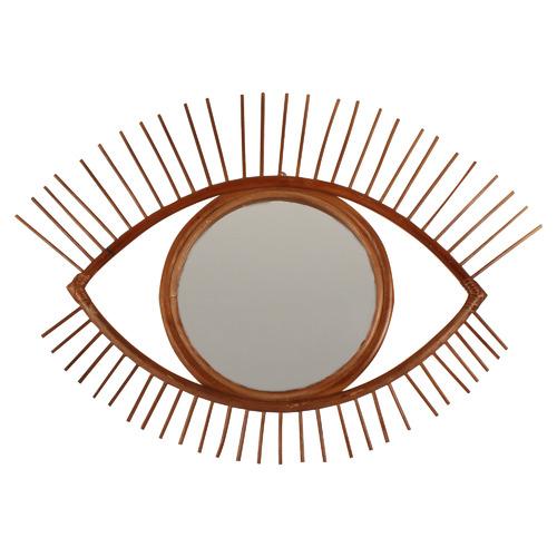 Lanu Eye Mirror Colour: Dark Timber