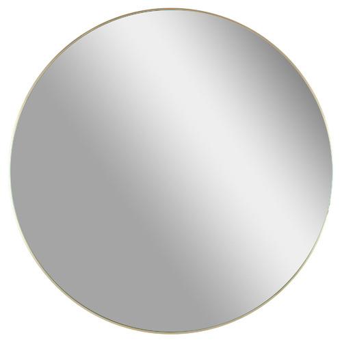 Stellar Round Metal Mirror Colour: Gold