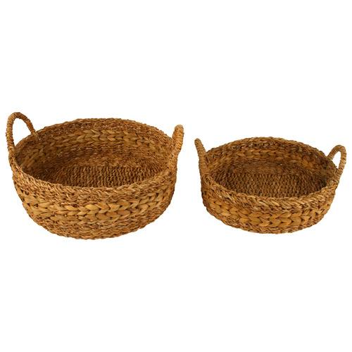 2 Piece Jolene Hogla Seagrass Basket Set
