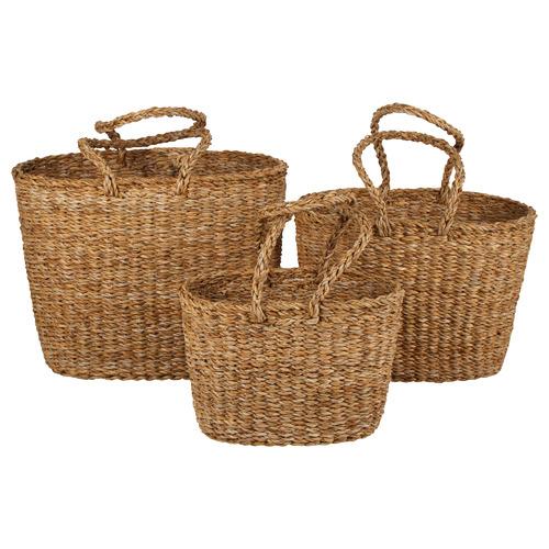 3 Piece Aldgate Seagrass Basket Set