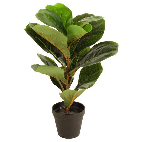 45cm Potted Faux Fiddle Leaf Plant