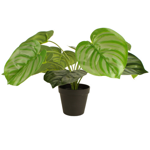 45cm Potted Faux Real Touch Green Apple Plant