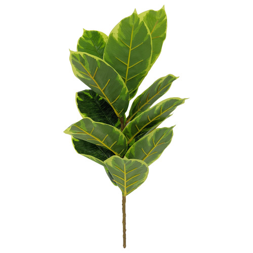 45cm Faux Rubber Plant Stem