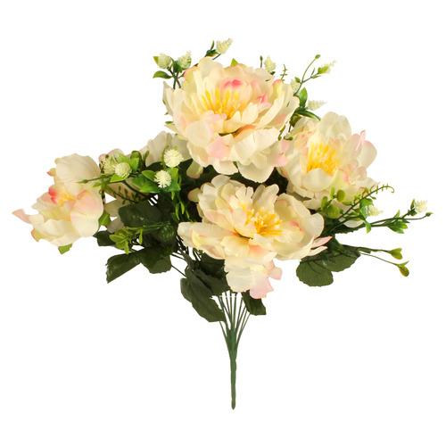 50cm Faux 13 Stem Rose Bouquet
