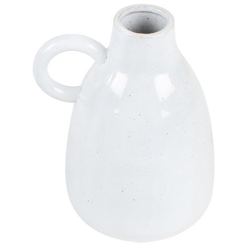 White Theo Porcelain Vase