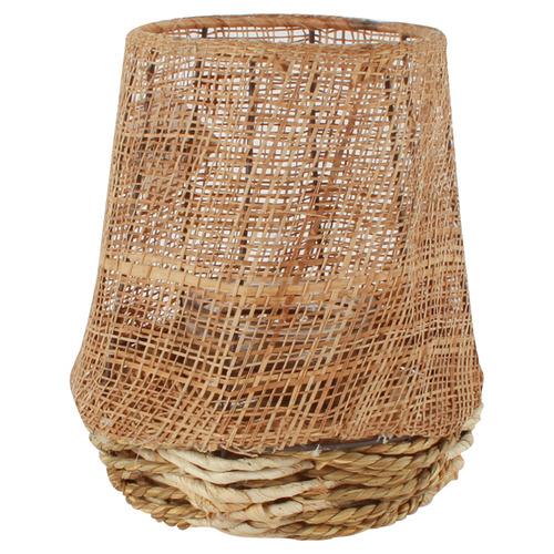 Dahab Wicker Lantern Vase