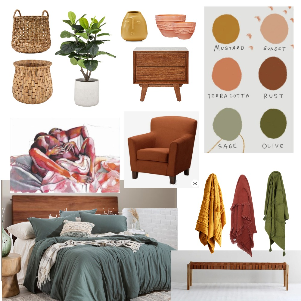 Madi&Chris Master Bedroom Interior Design Mood Board by Roetiby Kate-Lyn on Style Sourcebook