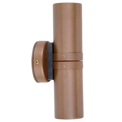 GU10 Up/Down Outdoor Wall Light Finish: Aged Copper