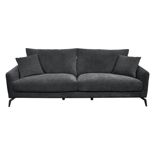 Kalsey 3 Seater Upholstered Sofa Colour: Licorice