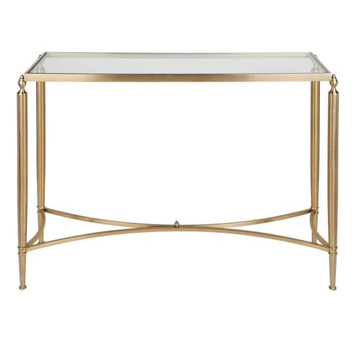 Jak Stainless Steel Console Table, 125cm, Gold