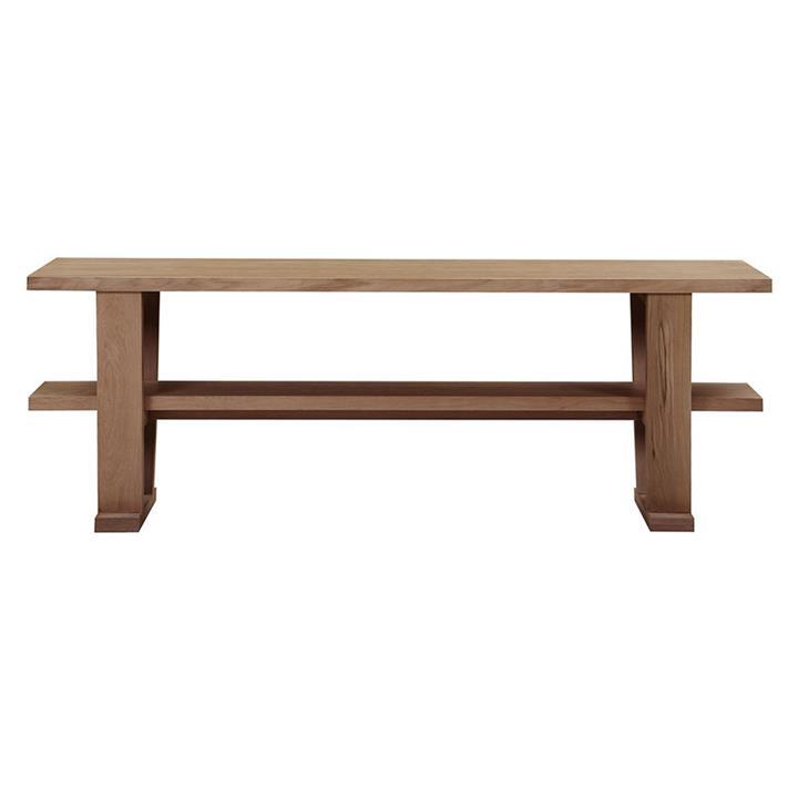 Blaine Wooden Console Table, 200cm, Natural