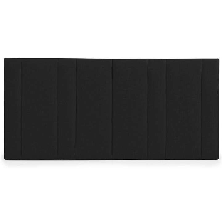 Bronx Fabric Bed Headboard, Queen, Black