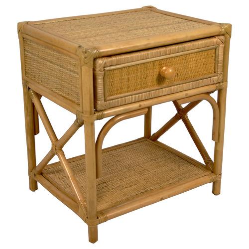 Rapola Rattan Bedside Table