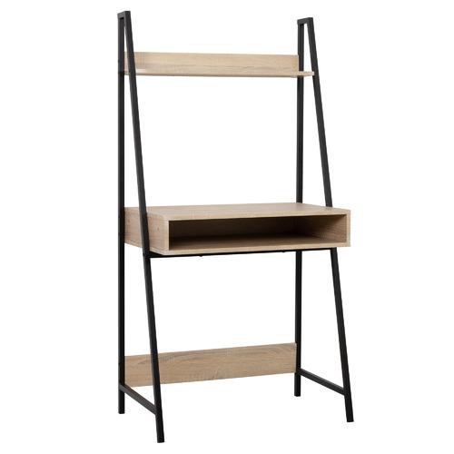 Natural & Black Corbin A-Frame Desk