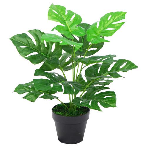 45cm Potted Faux Monstera Plant