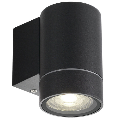 Kman Outdoor Wall Light Colour: Black