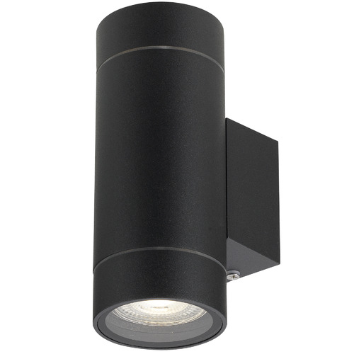Kman Outdoor Up/Down Wall Light Colour: Black
