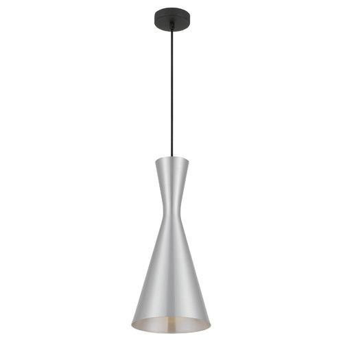 Flero 20cm Pendant Light Shade Colour / Base Colour: Silver / Black