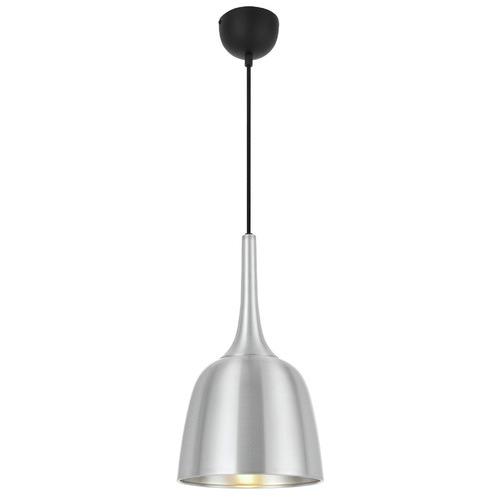 Polk 20cm Pendant Light Shade Colour / Base Colour: Silver / Black
