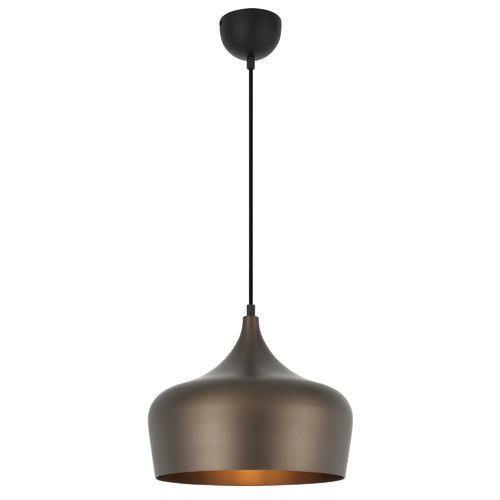 Polk 30cm Pendant Light Shade Colour / Base Colour: Bronze / Black