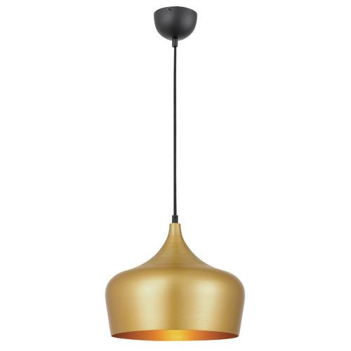 Polk 30cm Pendant Light Shade Colour / Base Colour: Gold / Black