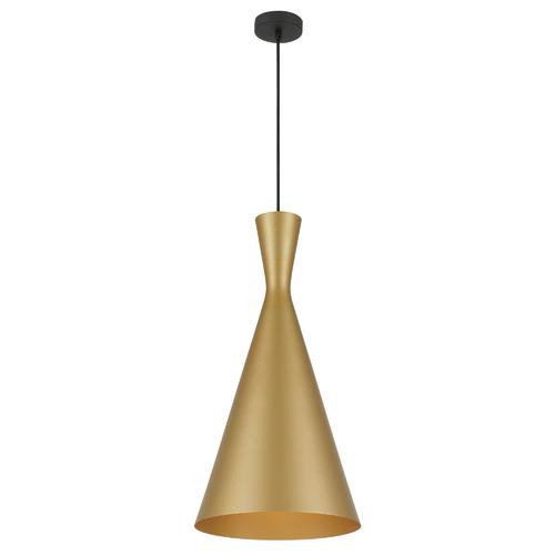 Flero 30.5cm Pendant Light Shade Colour / Base Colour: Gold / Black