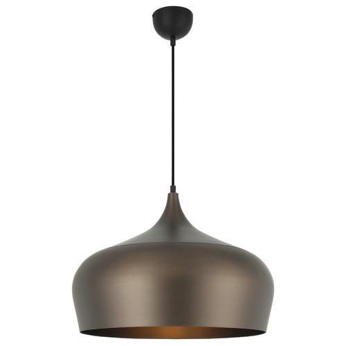 Polk 45cm Pendant Light Shade Colour / Base Colour: Bronze / Black