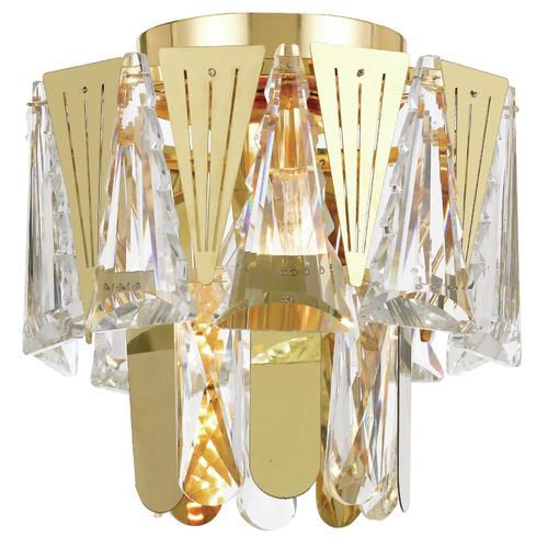 Valerie DIY Semi Flush Ceiling Light Colour: Gold