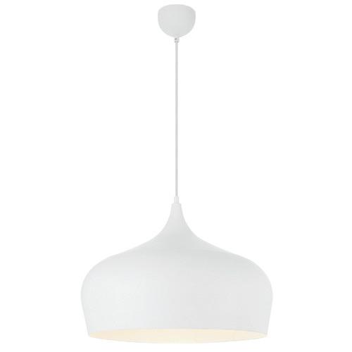 Polk 45cm Pendant Light Shade Colour / Base Colour: White / White