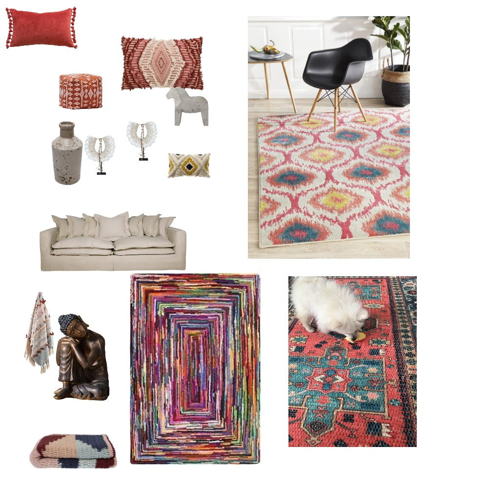 Boho Chic Interior Design Mood Board by lisawilson.aus@gmail.com on Style Sourcebook