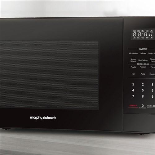 Morphy Richards Inverter 34L Microwave Black 1200W