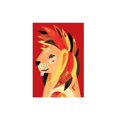 Maxwell & Williams Pete Cromer Wildlife Tea Towel 50x70cm Lion