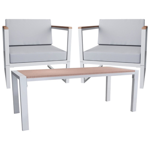 3 Piece Margaux Outdoor Chair & Coffee Table Set