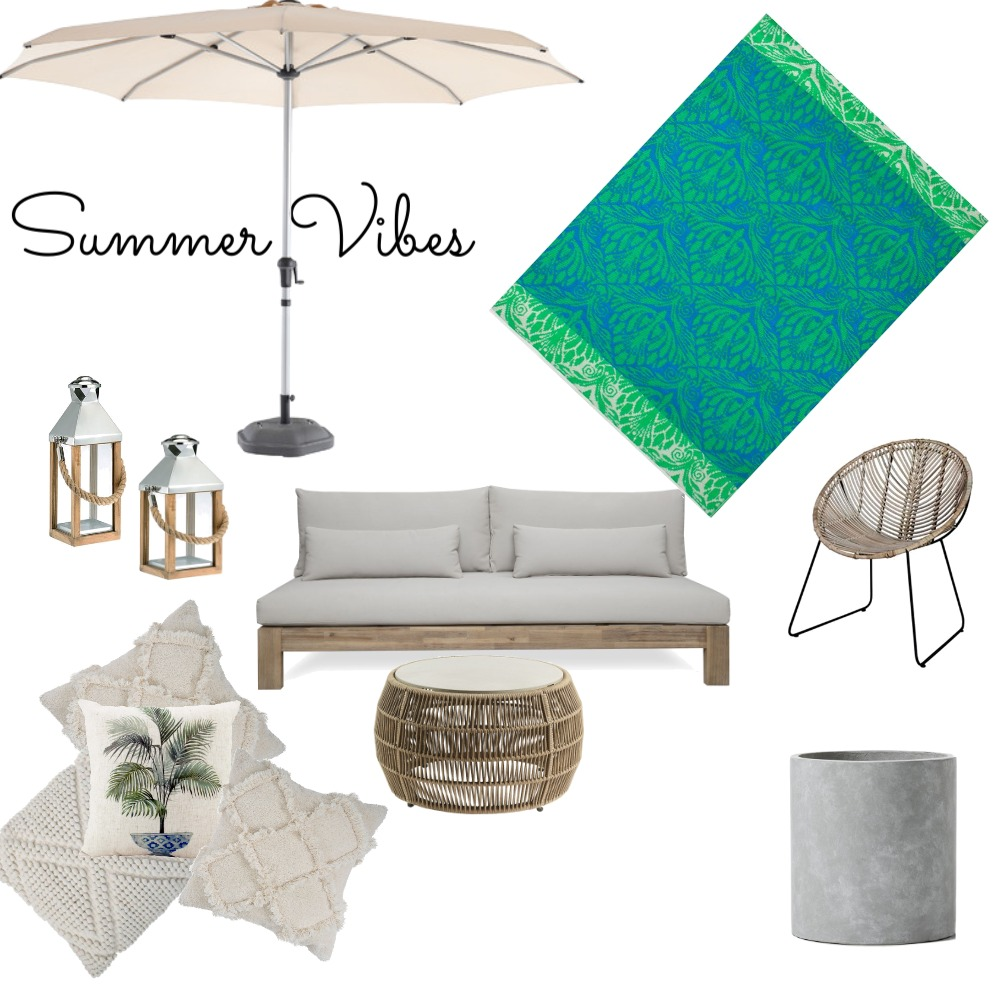 Summer Vibes3 Interior Design Mood Board by TrinaW on Style Sourcebook