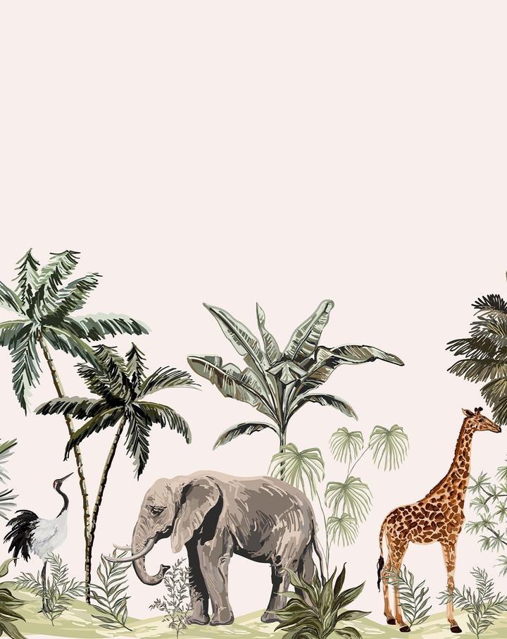 Jungle Mural Wallpaper