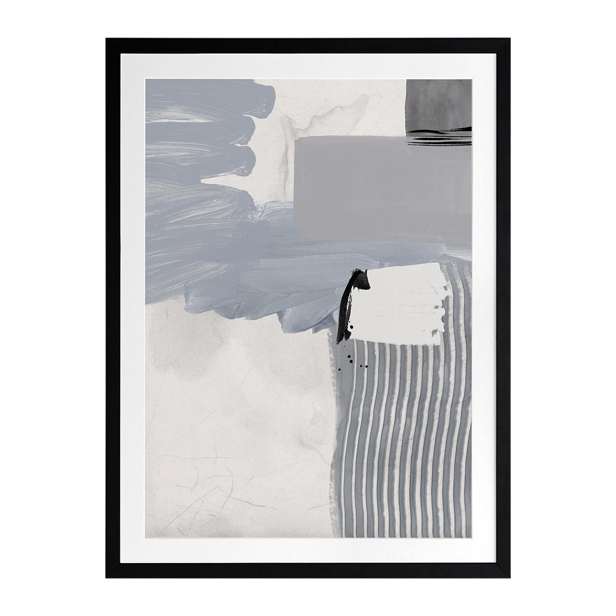 CONCRETE DECISION III FRAMED PRINT in 84 x 105cm