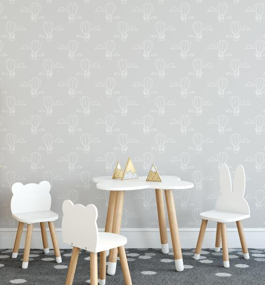 Floating Away Wallpaper | 4 Colour Options